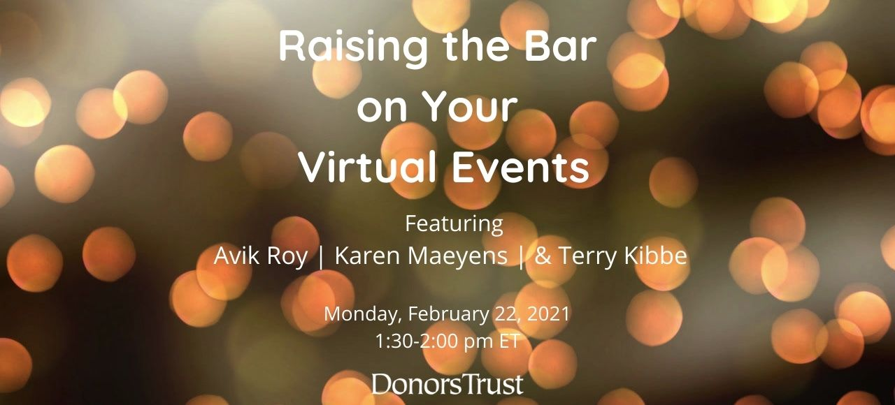 Raising the Bar on Your Virtual Events